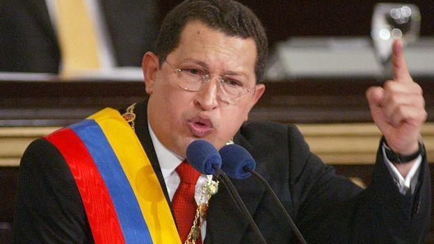 Hugo Chávez en 2003.