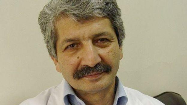 دکتر سودبخش یک روز پیش از خروج از ایران بیرون مطبش به گلوله بسته شد