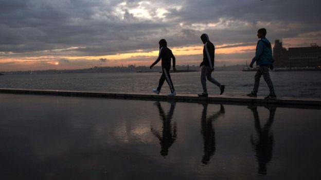 İstanbul'da gençler