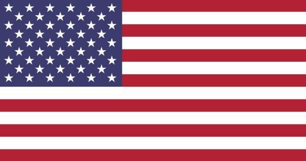 پرچم فعلی آمریکا هفت خط قرمز، شش خط سفید و ۵۰ ستاره در مستطیل آبی فوقانی سمت چپ خود دارد