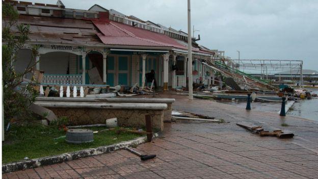 El huracán María