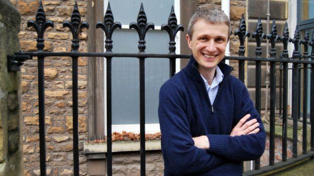 Dr Matthew Ridd from Bristol University