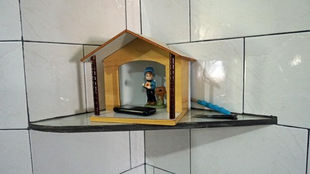 Objeto de decoracion en casa de menonitas