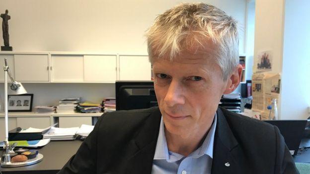 Hans Christian Holte, chefe das autoridades fiscais da Noruega