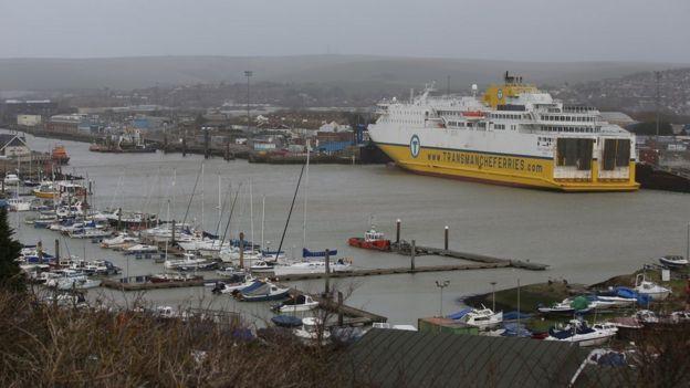 Puerto de Newhaven