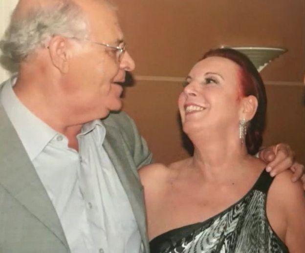 Elizabeth e o marido