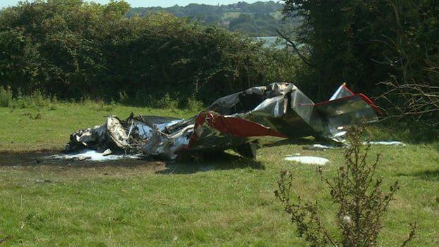 IOW plane wreckage