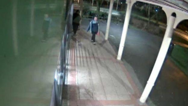CCTV image of Heather Jordan before she died