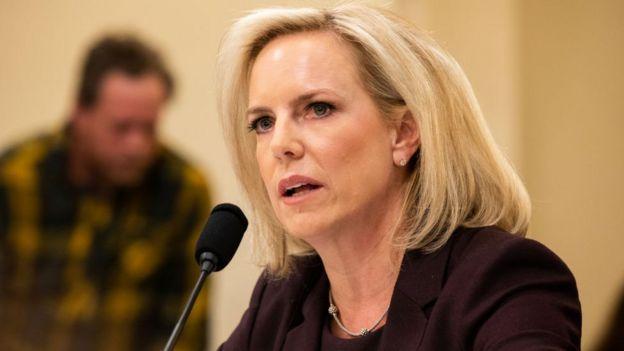 Kirstjen Nielsen testifies to Congress on 6 March 2019