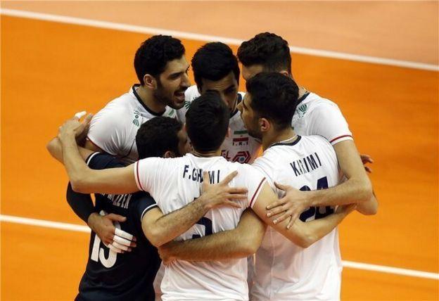 دومین پیروزی تیم ملی والیبال ایران در بازیهای انتخابی المپیک توکیو