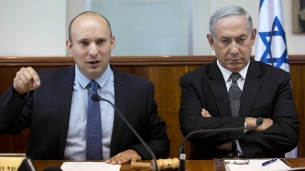 Naphtali Benet and Benjamin Netanyahu