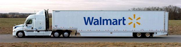 Camión de Walmart
