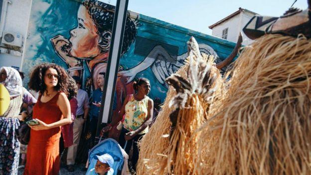 Afrika kökenlilerin kutladığı bir Dana Bayramı