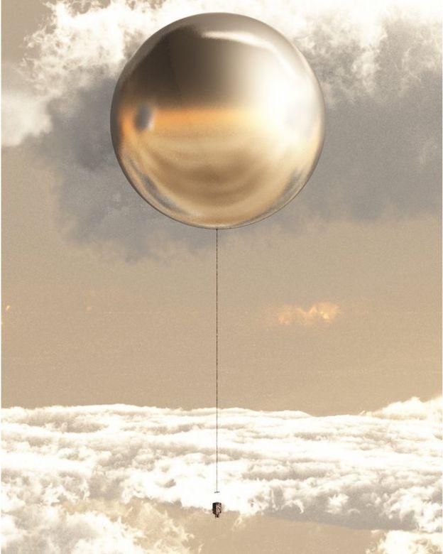 иллюстрация: на Венеру на шаре