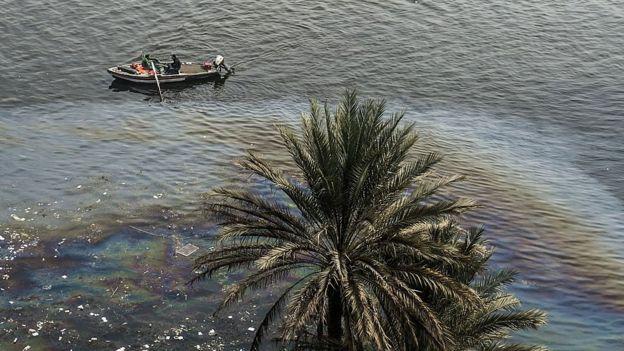 Contaminación en el Nilo