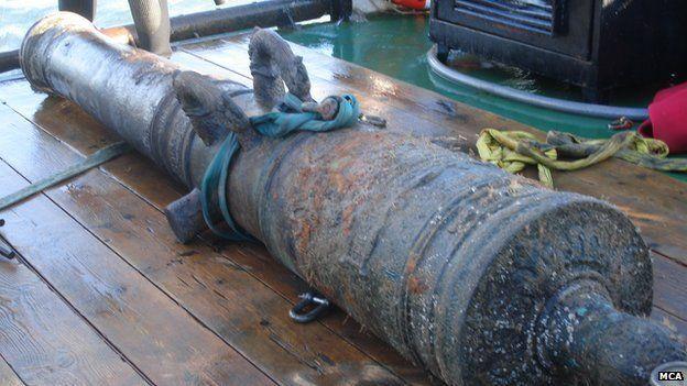 Dutch 17th Century cannon