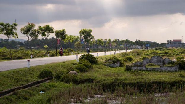 Cảnh chụp ở Hà Tĩnh