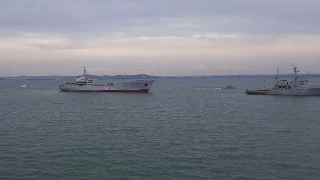 Украина опасается блокады портов и призывает на помощь ЕС