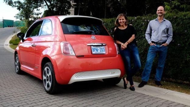 Carro eléctrico en Costa Rica