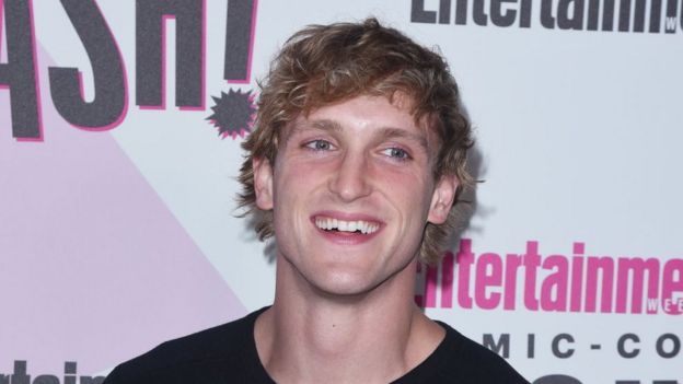 YouTuber Logan Paul.