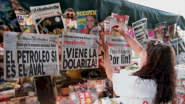 Meksika'nın krizden çıkışı ABD yardımı ile oldu
