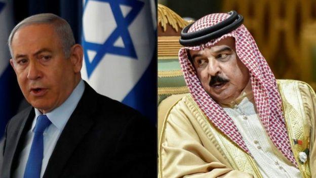 """يصف بعض الكتاب اتفاق التطبيع بأنه """"انهيار في الجبهة العربية الخلفية لصالح الكيان الصهيوني في فلسطين"""""""