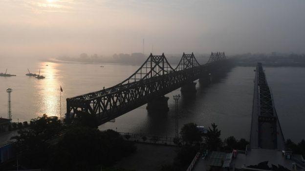 丹東,連接朝鮮和中國的橋樑