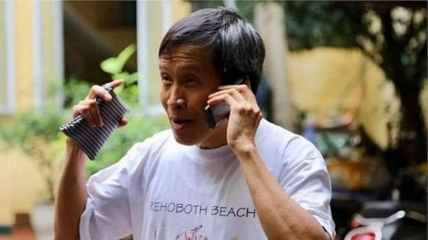 Nhà báo tự do Nguyễn Hữu Vinh
