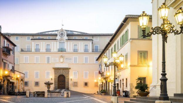 Plaza principal de Castel Gandolfo
