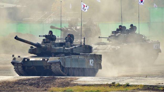 Южнокорейские танки