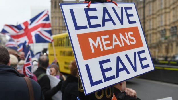 英国一些人士强烈要求硬脱欧,反对与欧盟保持联系