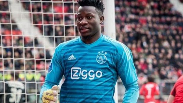 Chelsea watamkosa kipa wa Ajax Andre Onana kwasababu mchezaji huyo wa kimataifa wa Cameroon anajiandaa kurejea Barcelona. (Express)