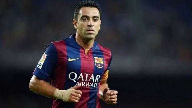 Nyota wa zamani wa Barcelona Uhispania Xavi anasema yuko tayari kuwa mkufunzi wa klabu hiyo ya La Liga
