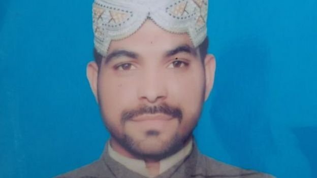 Convicted murderer Imran Ali as shown in an image handed out by Pakistani police