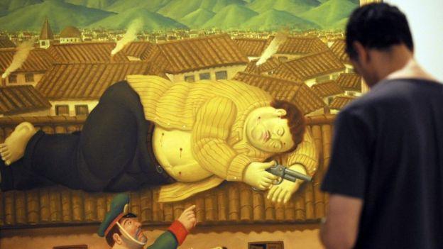 Картина Фернандо Ботеро