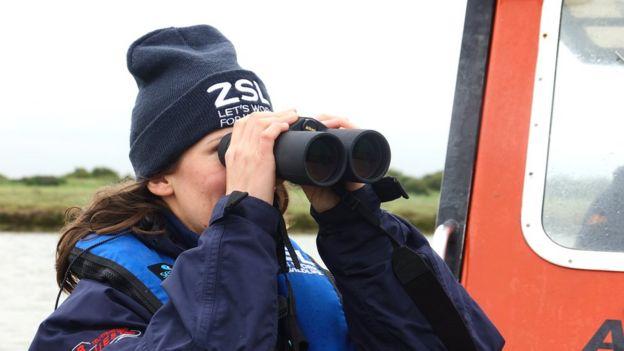 ZSL conservation biologist Thea Cox