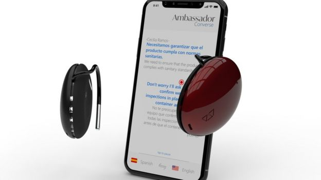 Teléfono y audífonos