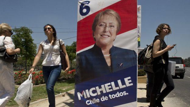 Propaganda electoral de Bachelet