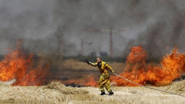 Israel menyatakan serangan pembakaran menyebabkan lebih 750 kebakaran sejak bulan April.