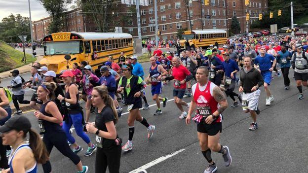 marine Corps Marathon in Arlington