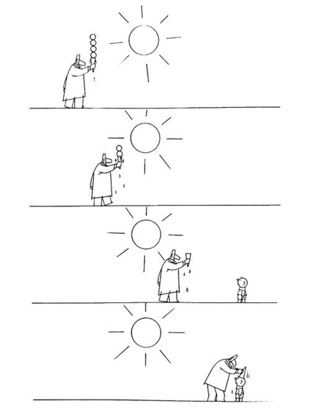 آب و آفتاب، یکی کم و یکی بسیار. درماندگی ها و راه یابی ها، همه در قلم ساده و صمیمی کامبیز درم بخش جمع شده است، تا هفته را هنرمندانه تصویر کند