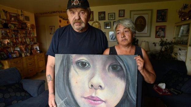 """پیکر تینا فونتین در سال 2014 در رود """"سرخ"""" پیدا شد - عکس بستگان تینا"""