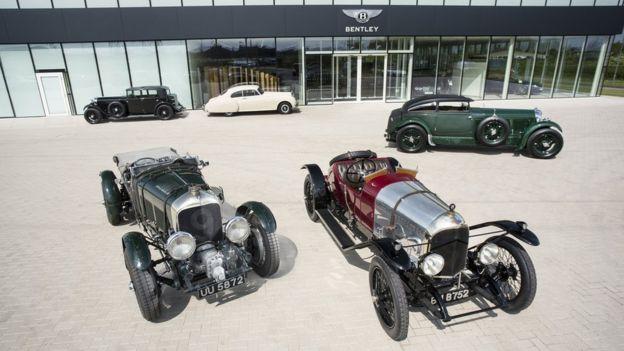 بنتلی مدلهای قدیمی خود را این هفته در پاریس نمایش خواهد داد