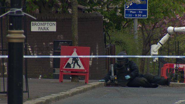 Brompton Park bomb