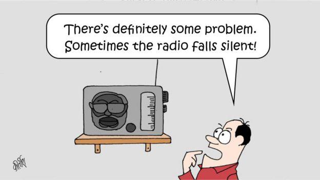 Narendra Modi: BBC cartoonist looks at India PM's two years