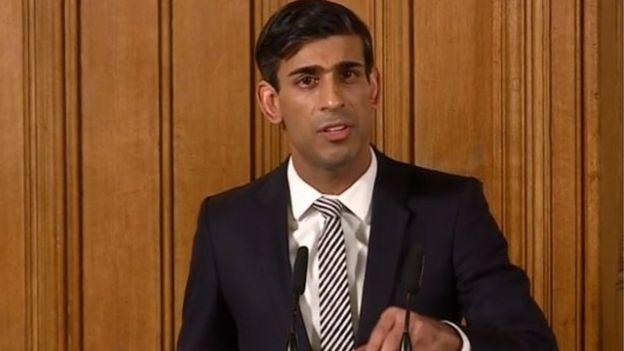 İngiltere Maliye Bakanı Rishi Sunak