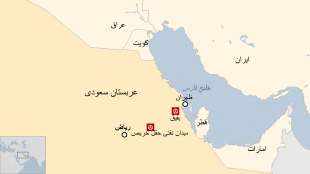 حمله پهپادی به یک پالایشگاه و میدان نفتی در عربستان سعودی