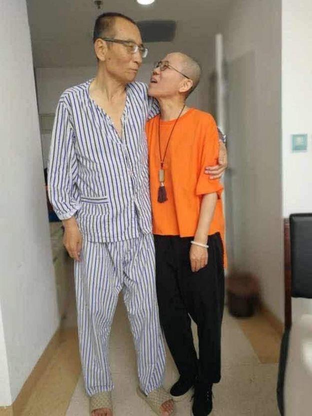 劉曉波和劉霞