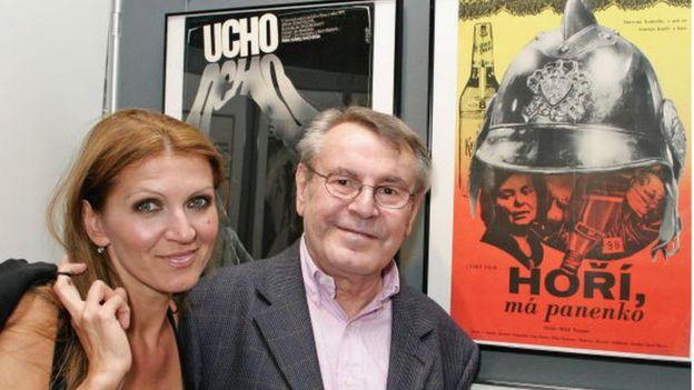 Çekoslovak yönetmen Milos Forman