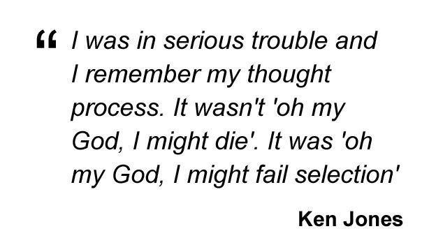 Ken Jones quote